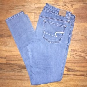 American Eagle stretch skinny jeans